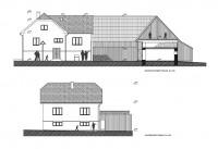 Das Haus den Großvater Hruštín, Orava 2012-2013