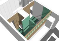 Rekonstruktion des Wohnungskerns Brezno 2013