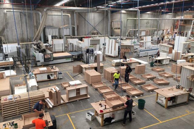 Harold Park Projectat Woodworx and Top Knot workshop Sydney 2016-2018