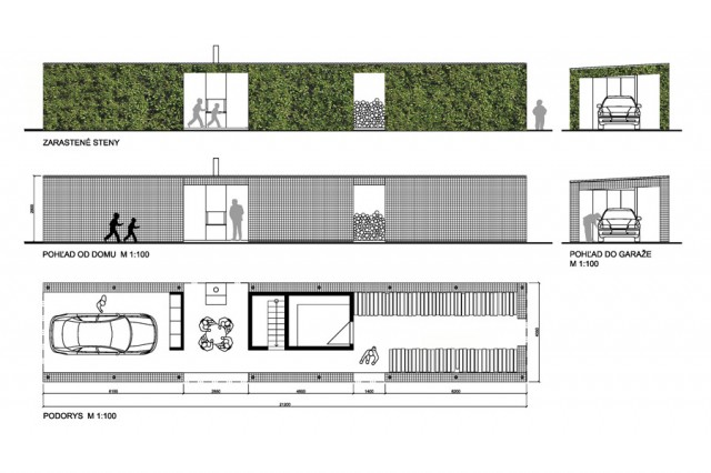 Jacob`s Garden House Žarnovica 2013-2016