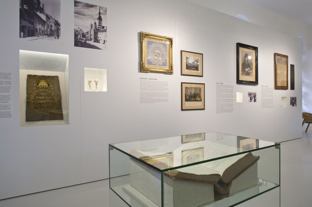 Jewish museum in Synagogue Bratislava 2012